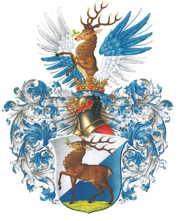 Rekonstrukcja z I poł. XX wieku herbu Jeleniej Góry z 1599 roku