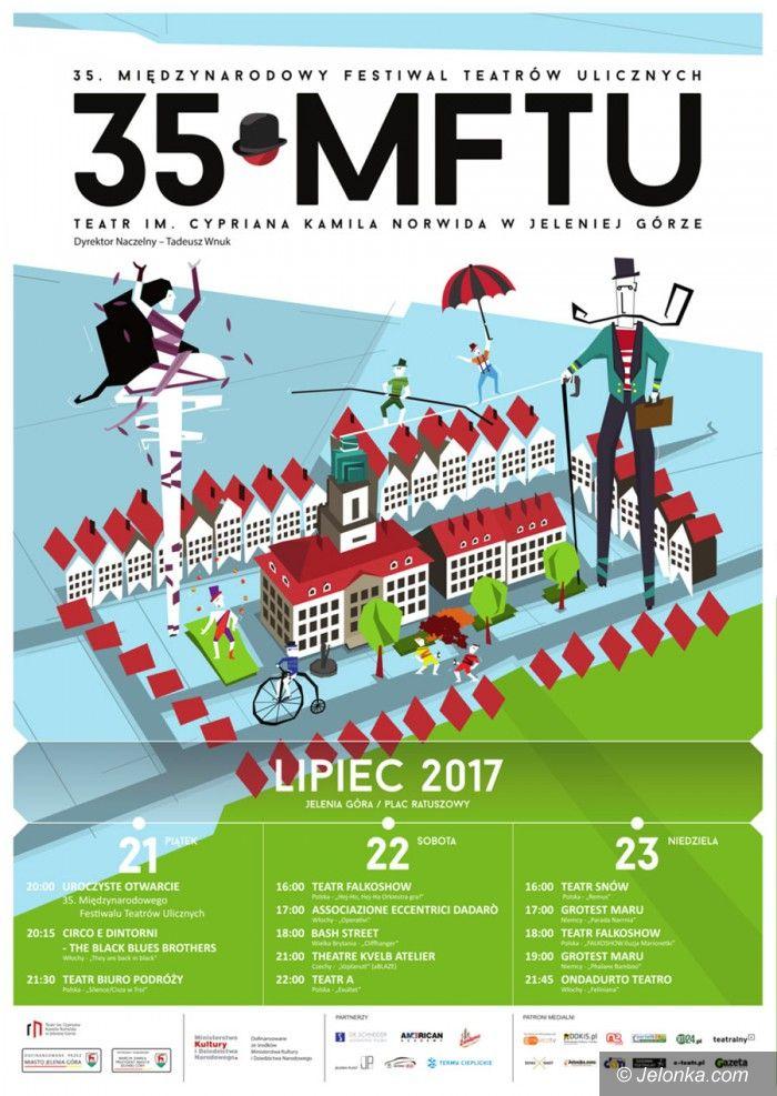 Jelenia Góra: 35. Międzynarodowy Festiwal Teatrów Ulicznych
