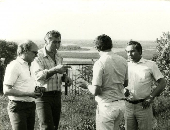 Mieczysław Buczyński na swoich ulubionych Kresach