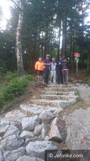 Karpacz: Policjanci odnaleźli zaginionego turystę