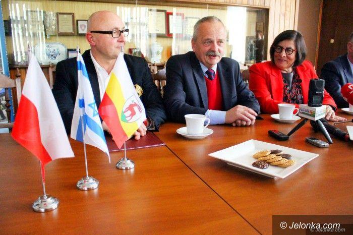 Jelenia Góra: Ambasador Izraela z wizytą w Jeleniej Górze