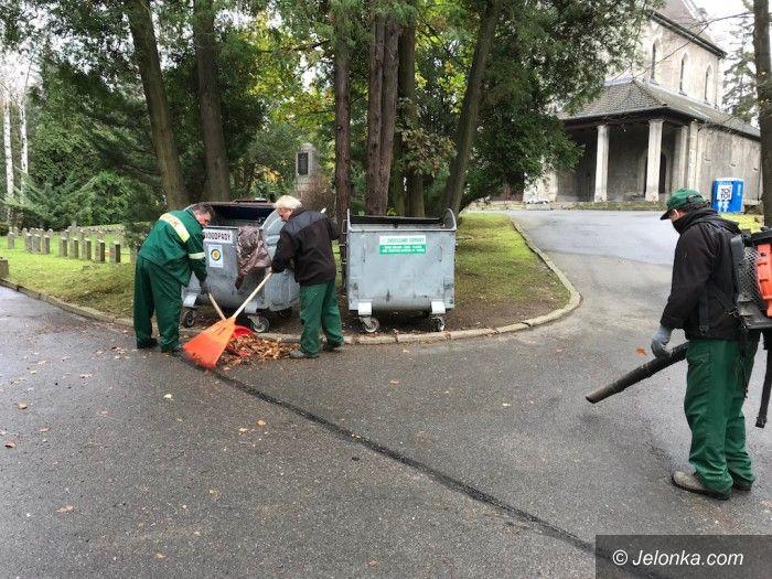 Jelenia Góra: Wielkie sprzątanie na jeleniogórskich cmentarzach