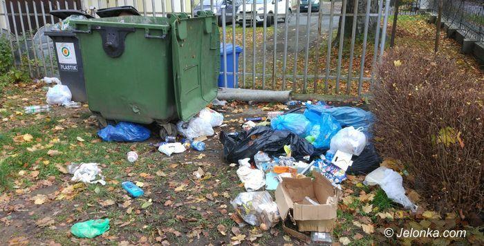 Jelenia Góra: Czytelnik: Niechlujstwo wywożących śmieci