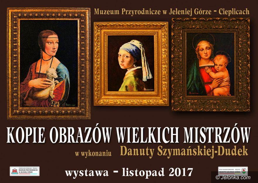 Jelenia Góra: Kopie obrazów wielkich mistrzów w Muzeum Przyrodniczym