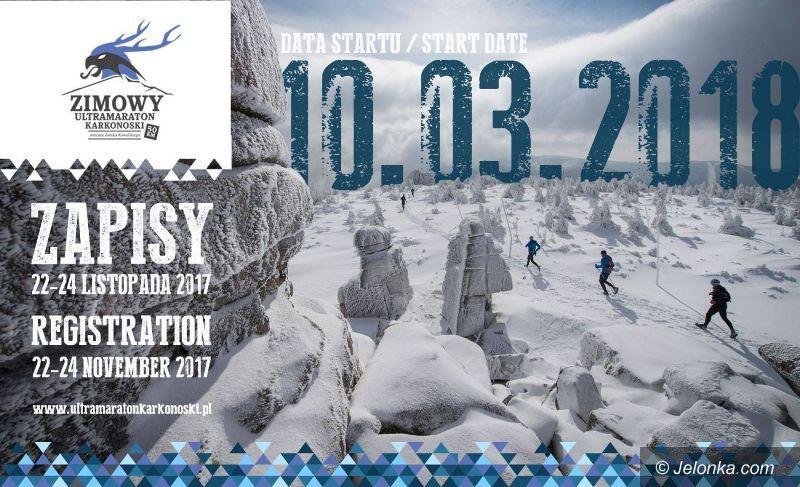 Region: Zapisy na Zimowy Ultramaraton Karkonoski