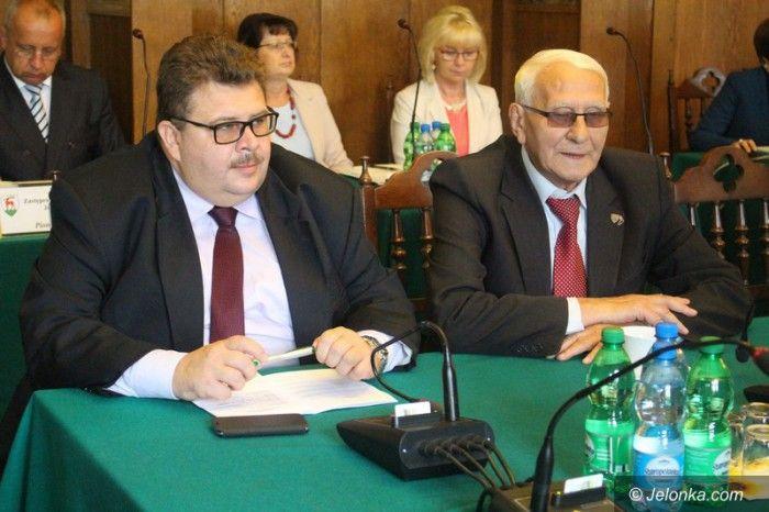Józef Sarzyński – po prawej, Robert Obaz – po lewej.