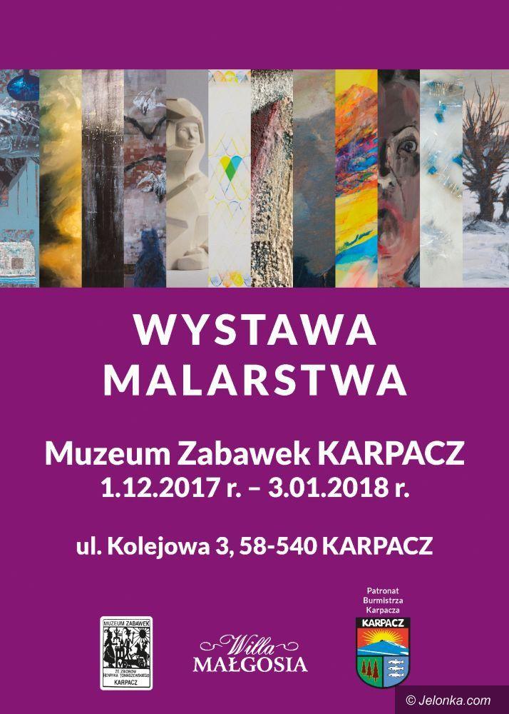 Karpacz: Wernisaż poplenerowej wystawy malarstwa