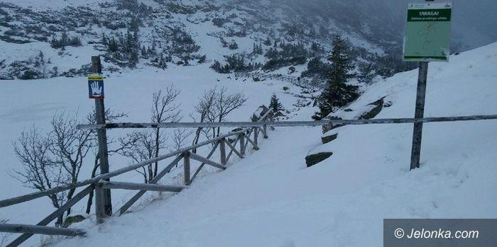 Region: Niebieski szlak do Samotni zamknięty
