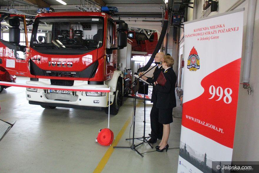 Jelenia Góra: Ważne wsparcie dla jeleniogórskich strażaków