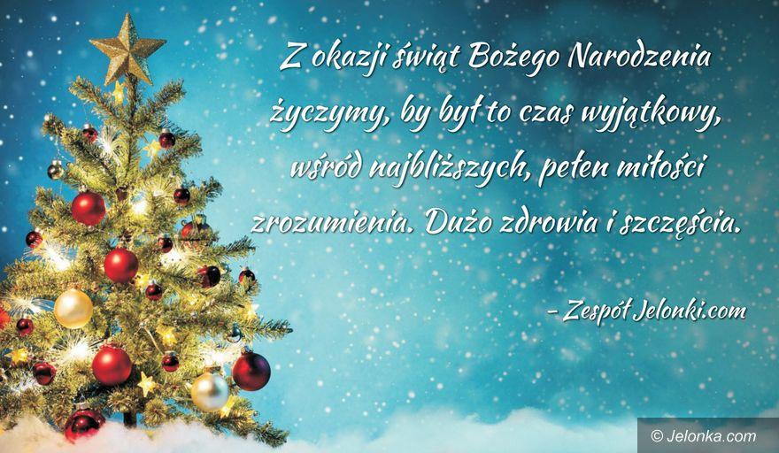 Jelenia Góra: Szczęśliwych, radosnych świąt!