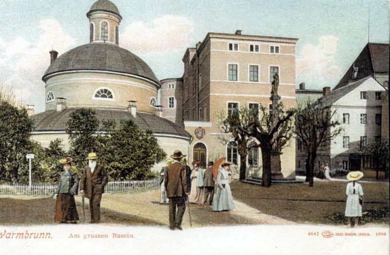 Plac Zdrojowy na pocz. XX wieku