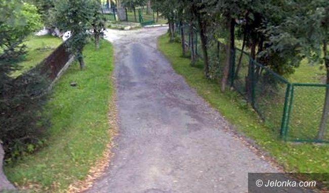 Region: Ulica w Bukowcu do remontu