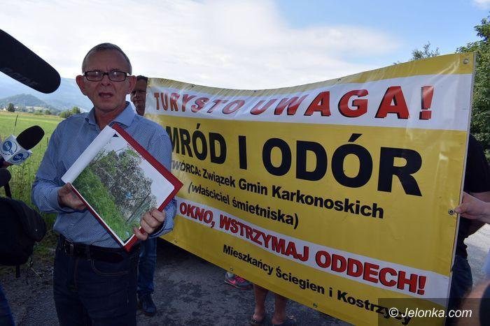 Region: Protest w Kostrzycy