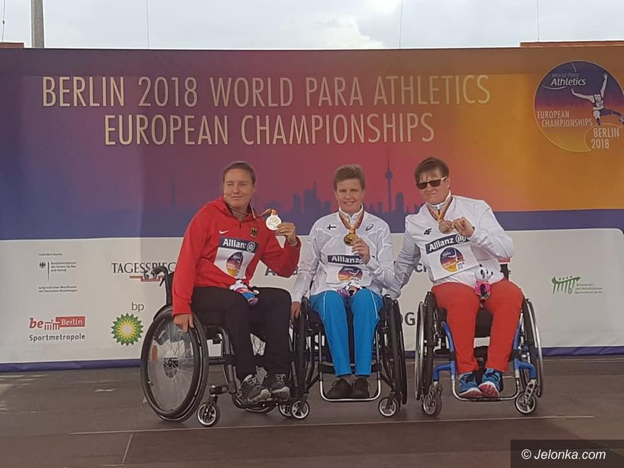 Berlin: Dwa medale ME i dwa rekordy świata!