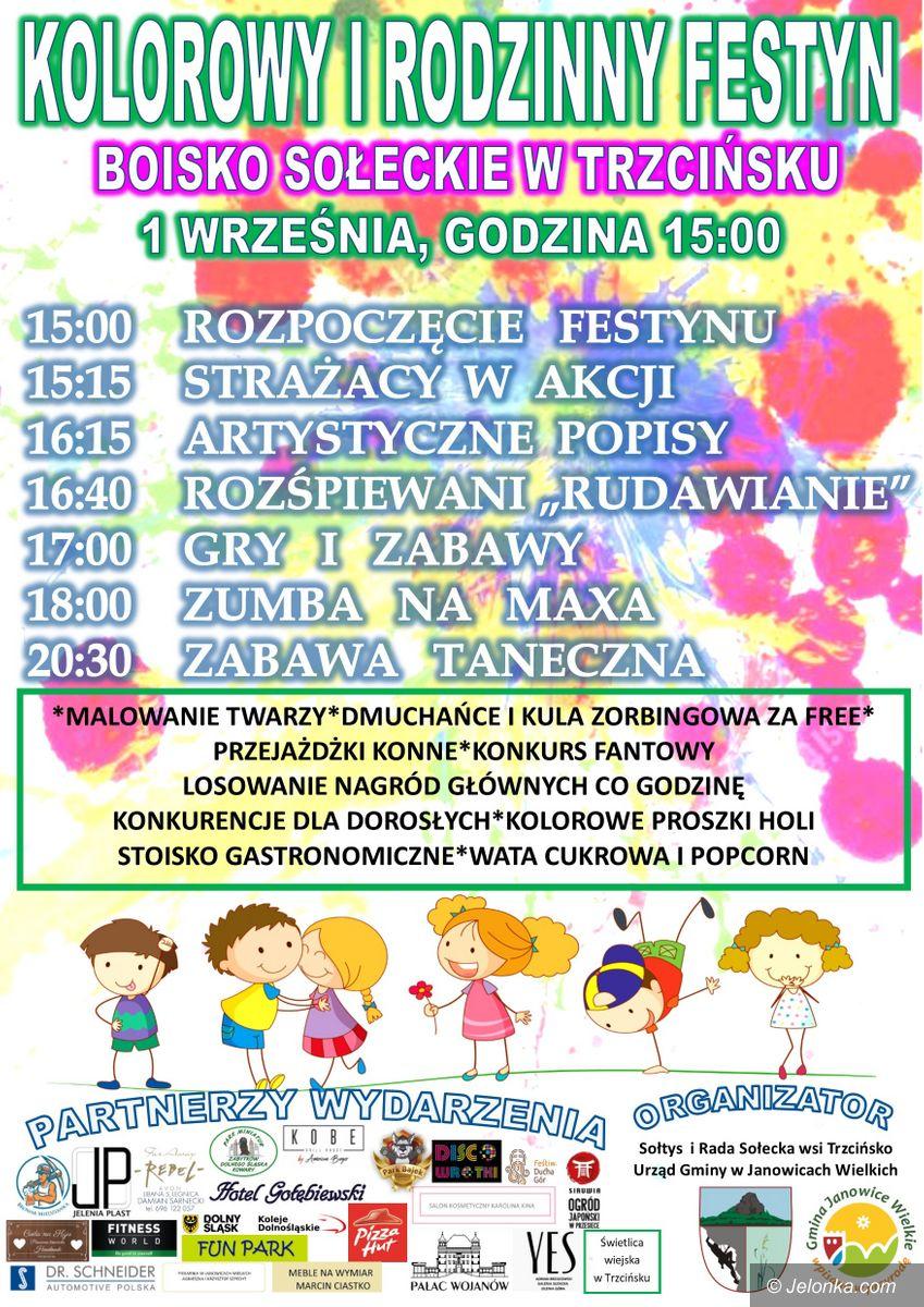 Janowice Wielkie: Kolorowy festyn w Trzcińsku