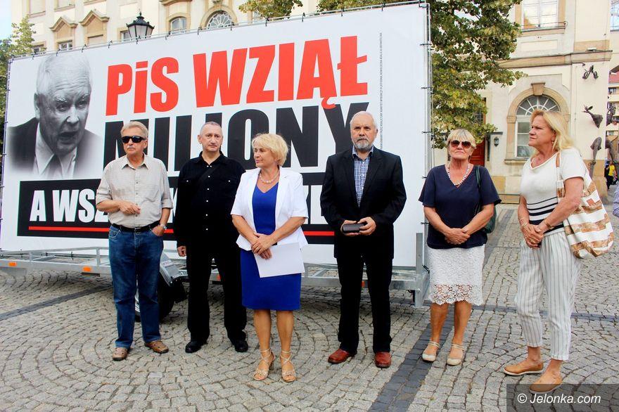 Jelenia Góra: Posłanka PO o milionach dla PiS