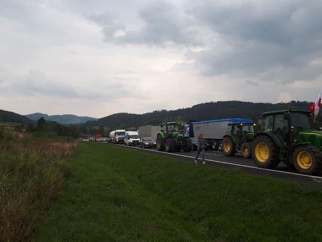 Kaczorów: Blokada w Kaczorowie