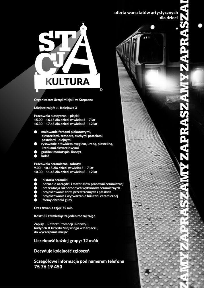 """Karpacz: Rusza """"Stacja Kultura"""" w Karpaczu"""