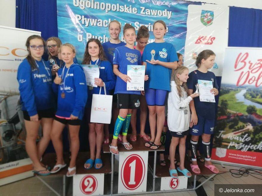Brzeg Dolny: Zaczęli pływacki sezon z wysokiego