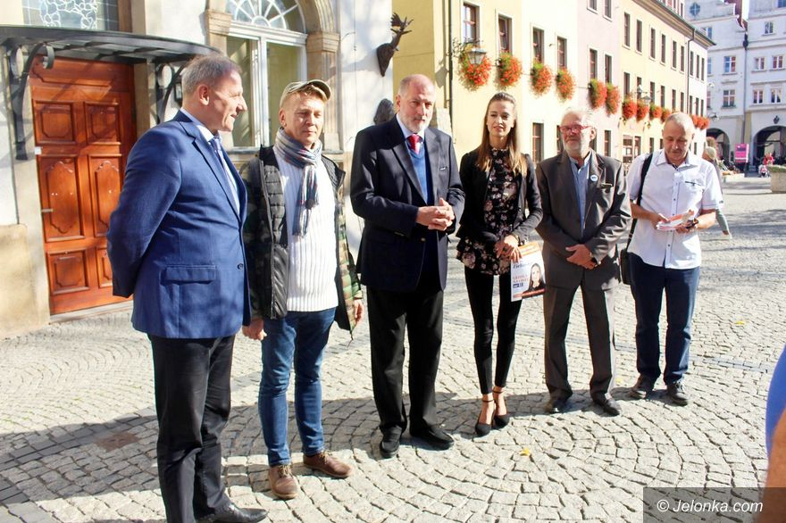 Jelenia Góra: Kandydaci Rafała Dutkiewicza