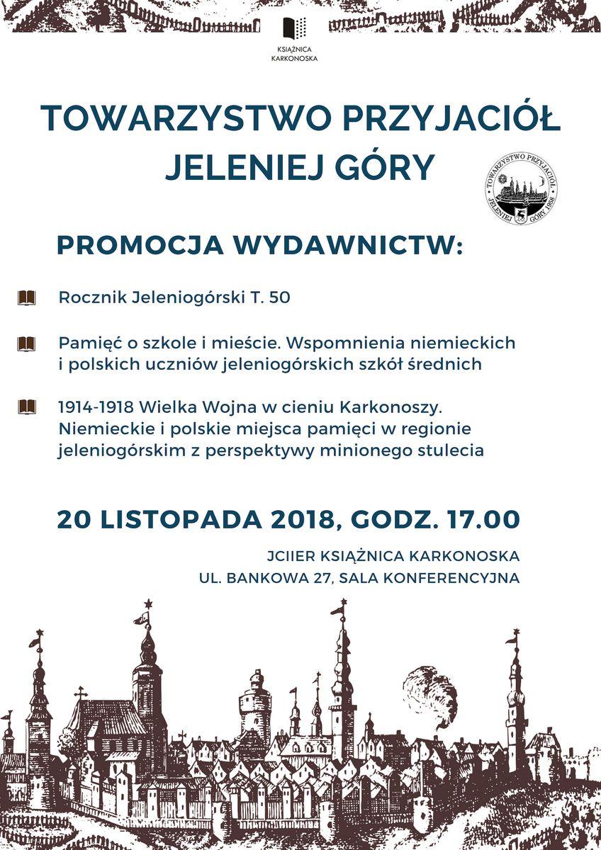 Jelenia Góra: W Książnicy o wydawnictwach TPJG