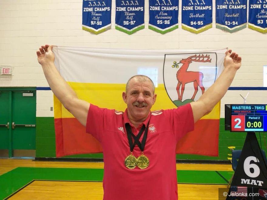 Las Vegas: Jeleniogórski zapaśnik z dwoma medalami MŚ!