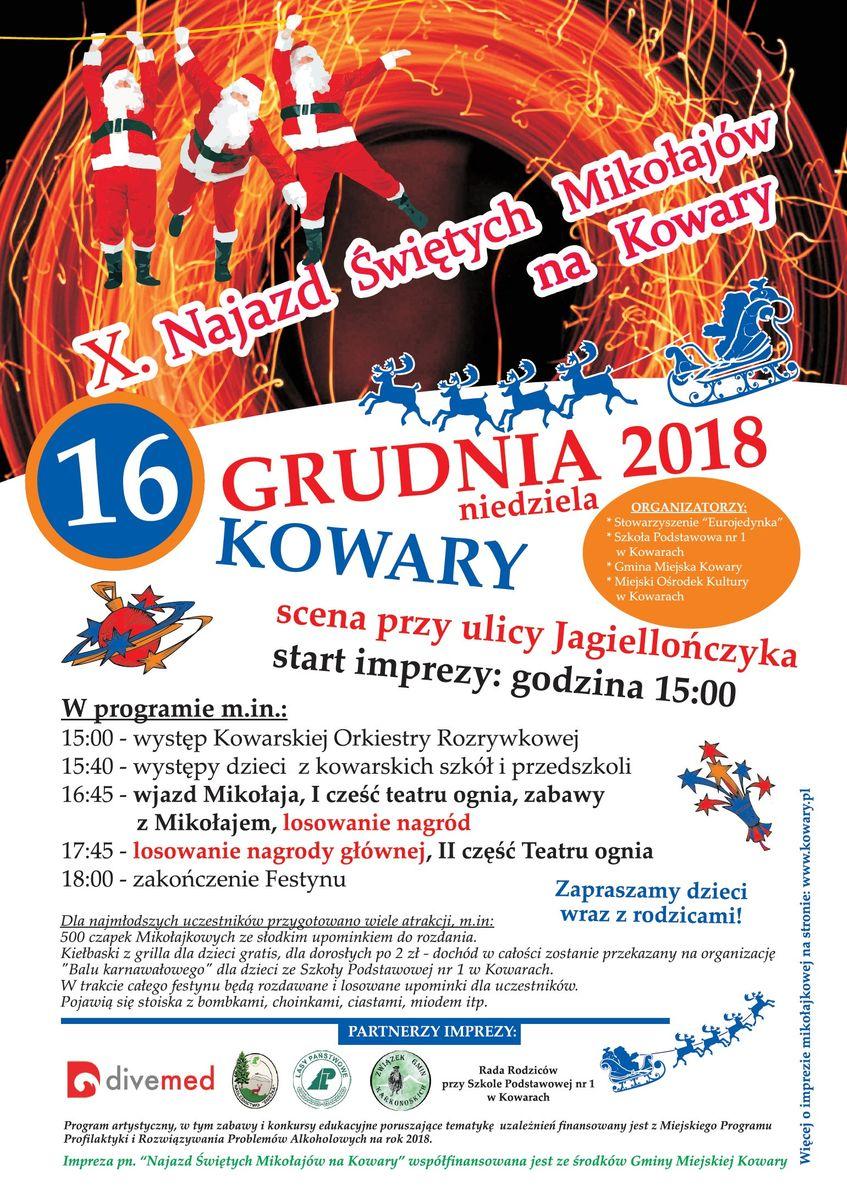 Kowary: Mikołaje najadą na Kowary