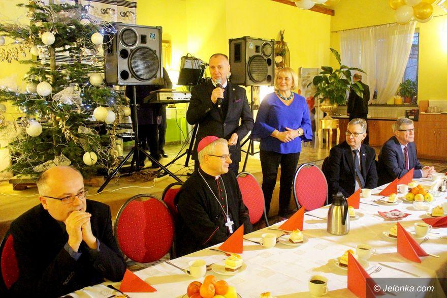 Jelenia Góra: Spotkanie opłatkowe niepełnosprawnych