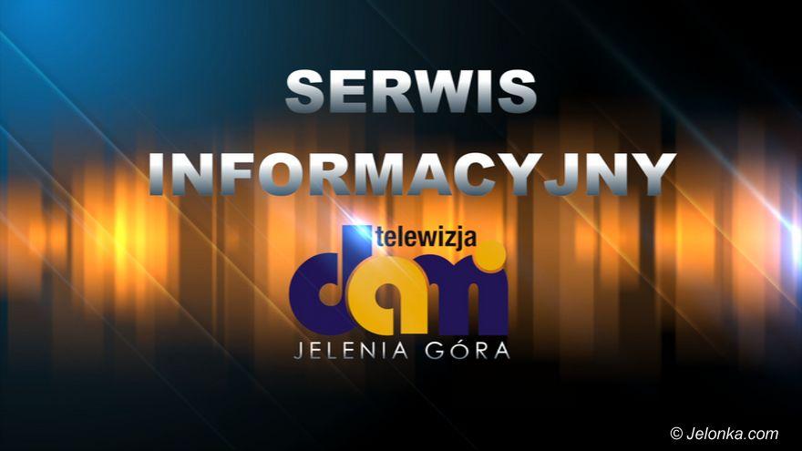 Jelenia Góra: Serwis Informacyjny Telewizji DAMI Jelenia Góra z dnia 17.01.2019 r.