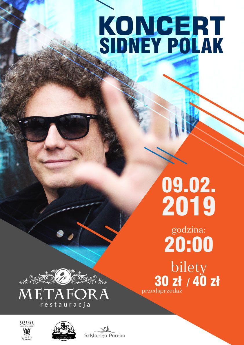 Szklarska Poręba: Koncert Sidneya Polaka w Metaforze