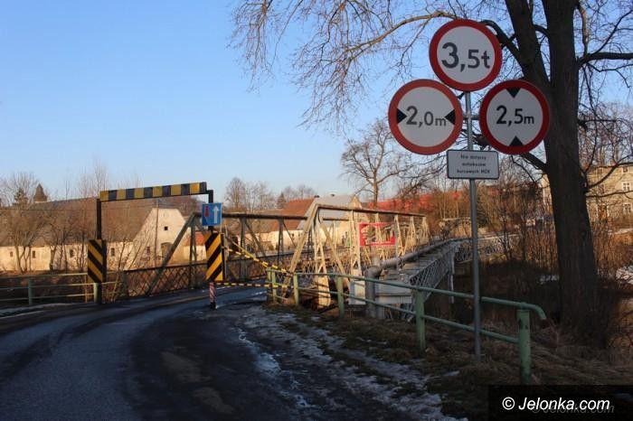 Siedlęcin: Most w Siedlęcinie został zamknięty