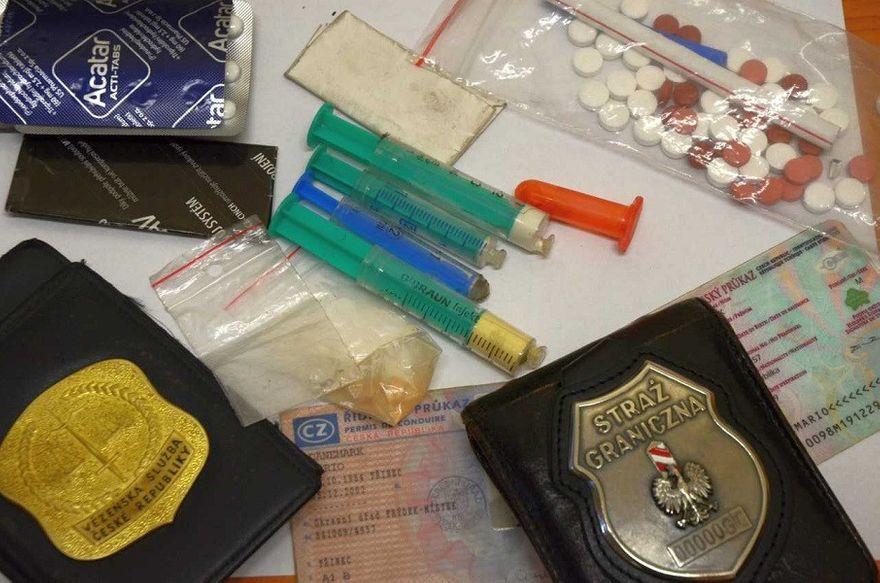 Region: Czech zatrzymany z narkotykami