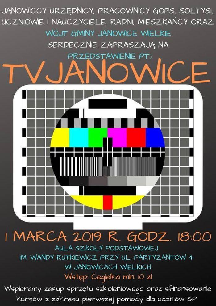 Janowice Wielkie: TV Janowice, czyli przedstawienie dobroczynne