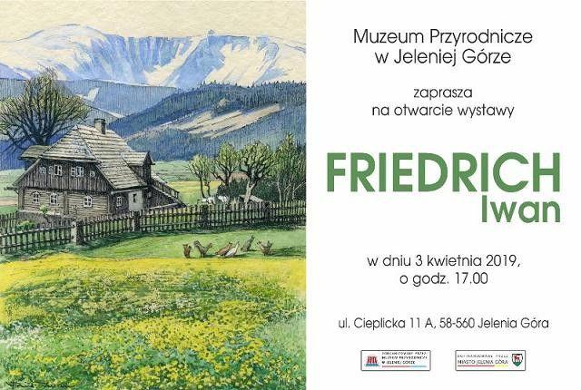 Jelenia Góra/Cieplice: Obrazy Friedricha Iwana w Muzeum Przyrodniczym