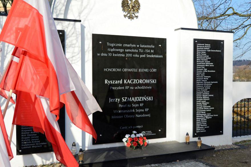 Jelenia Góra: Pamięci ofiar Smoleńska