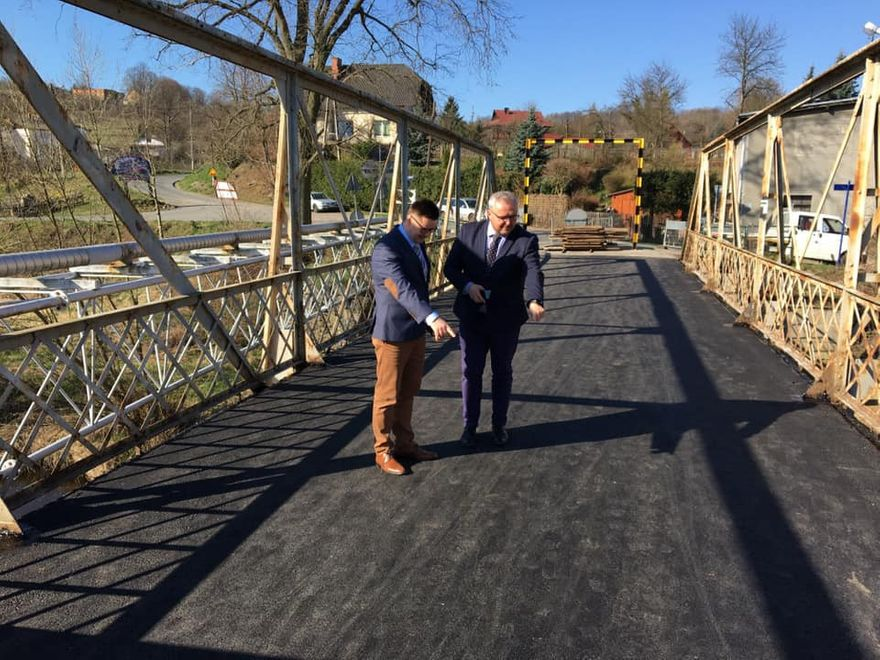 Siedlęcin: Most w Siedlęcinie otwarty