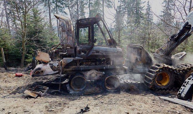 Szklarska Poręba: Kto podpalił maszyny?