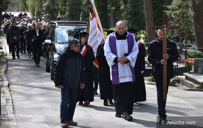 Jelenia Góra: Ostatnie pożegnanie Andrzeja Błachno