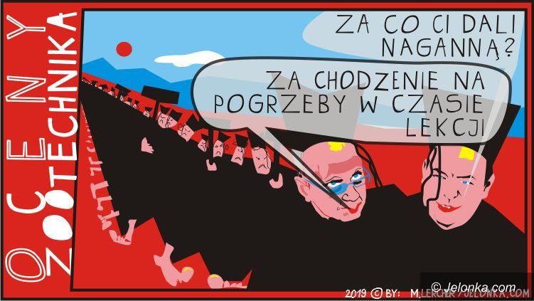 Jelenia Góra: Jedni maszerują, inni zarabiają kasę!