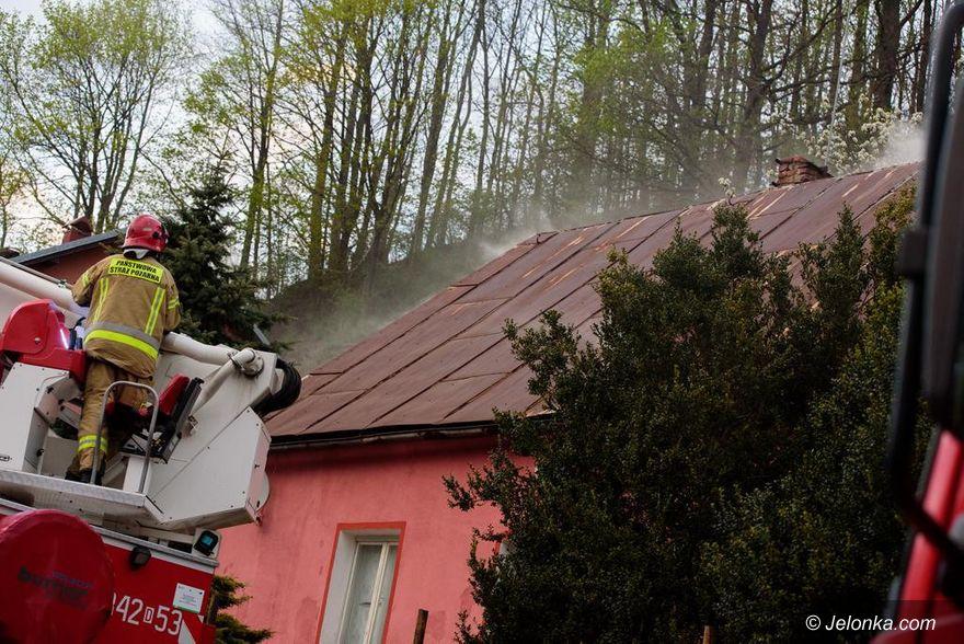 Jeżów Sudecki: Palił się dom w Jeżowie Sudeckim