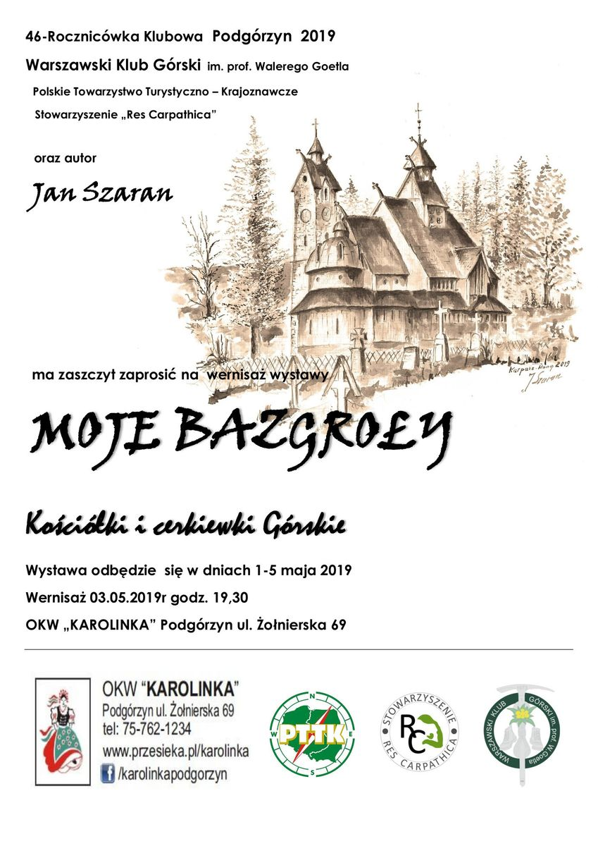 Podgórzyn: Wystawa Jana Szarana w
