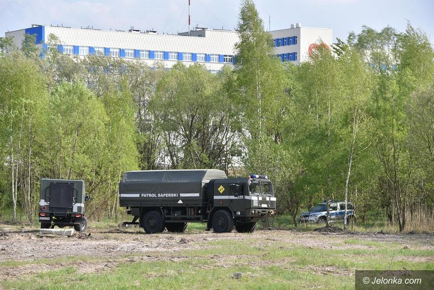 Jelenia Góra: Granat koło szpitala