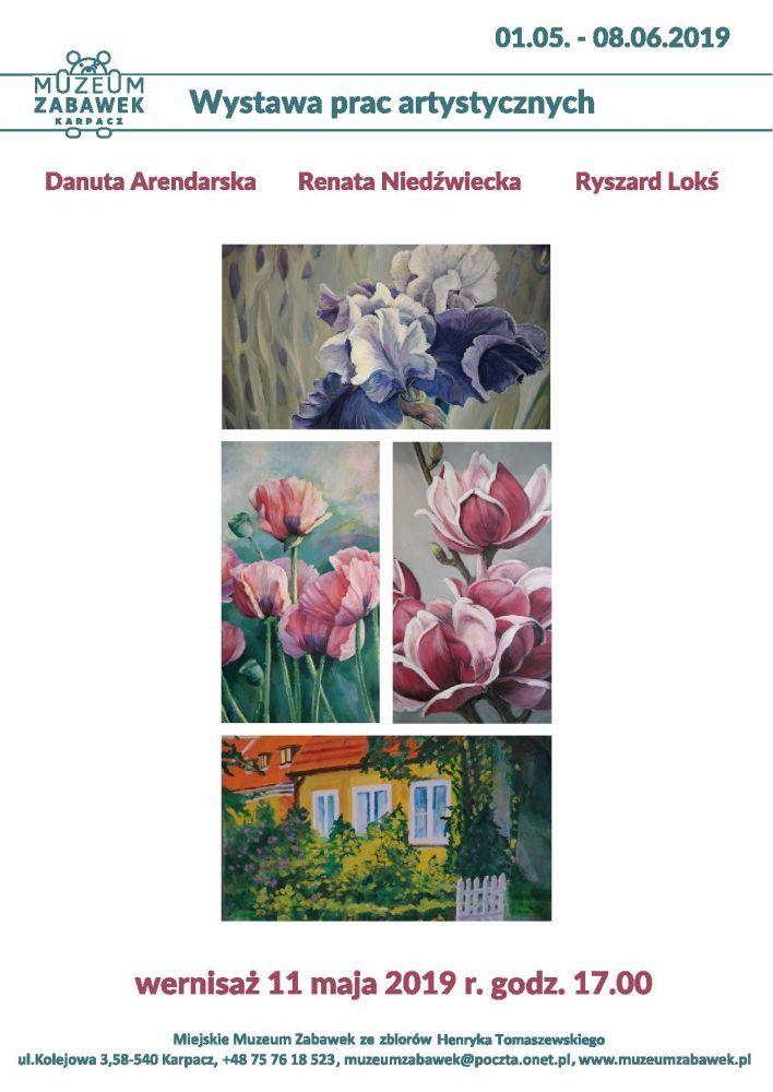 Karpacz: Wystawa prac artystów z Wołowa