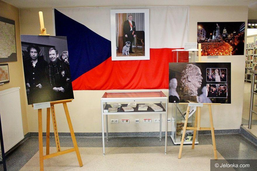 Jelenia Góra: Vaclav Havel na fotografiach