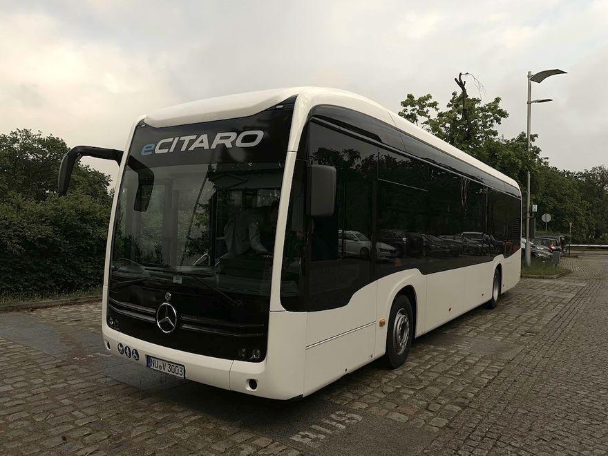 Jelenia Góra: Autobus elektryczny w Jeleniej Górze
