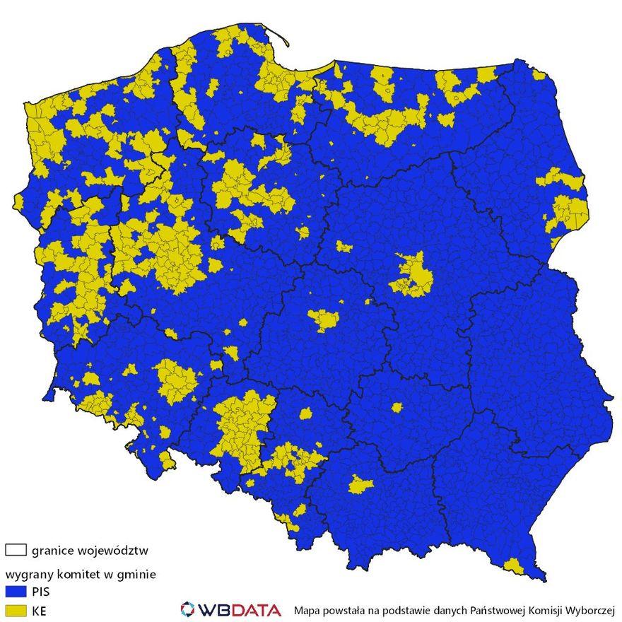 Polska: PiS–KE: 2020 do 457