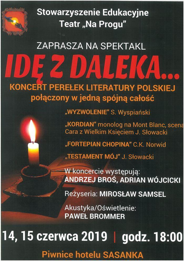 Szklarska Poręba: Koncert literacki pod Szrenicą