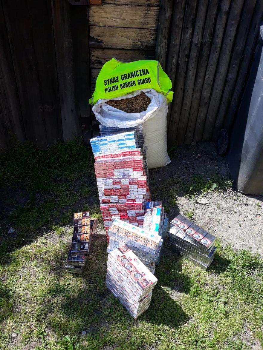 Jelenia Góra: Pogranicznicy ujawnili papierosy bez akcyzy