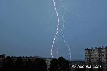 Jelenia Góra: W Jeleniej Górze i powiecie spodziewane burze z gradem