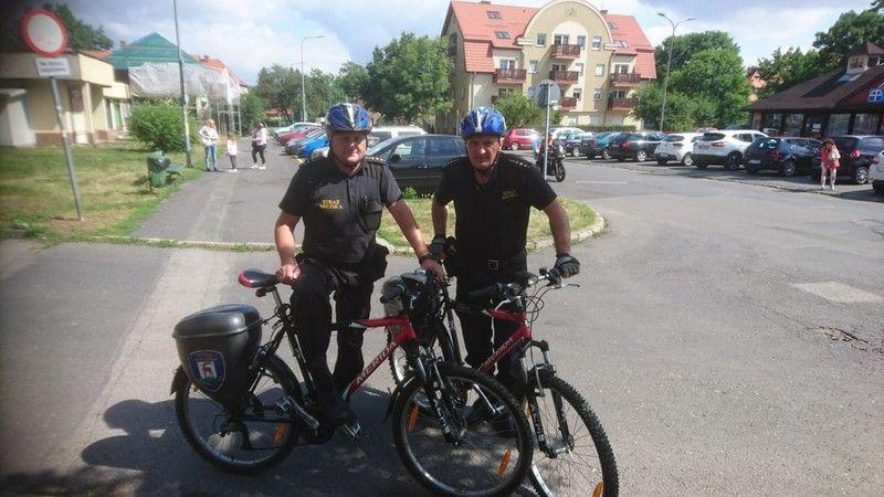 Jelenia Góra: Patrole rowerowe Straży Miejskiej